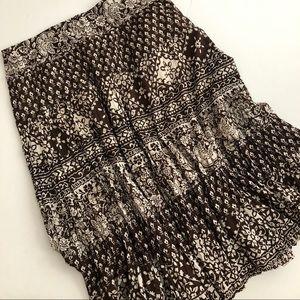 Jones New York women's brown and white skirt sz 10